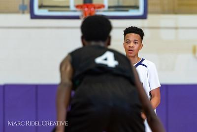 Broughton boys JV basketball vs Enloe. January 4, 2019. 1-4-19 BasketballBV00709