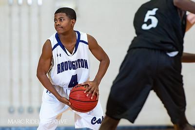 Broughton boys JV basketball vs Enloe. January 4, 2019. 1-4-19 BasketballBV00717