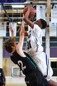 Broughton boys JV basketball vs Enloe. January 4, 2019. 1-4-19 BasketballBV00684