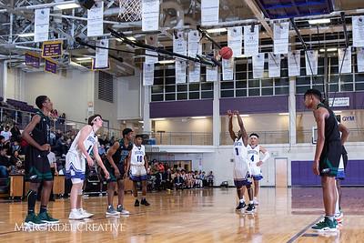Broughton boys varsity basketball vs Enloe. January 4, 2019. 750_1188