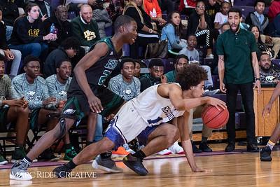 Broughton boys varsity basketball vs Enloe. January 4, 2019. 750_1189