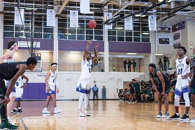 Broughton boys varsity basketball vs Enloe. January 4, 2019. 750_1257