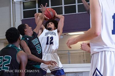 Broughton boys varsity basketball vs Enloe. January 4, 2019. 750_1201