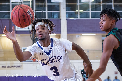 Broughton boys varsity basketball vs Enloe. January 4, 2019. 750_1248