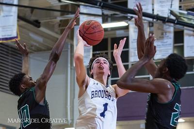Broughton boys varsity basketball vs Enloe. January 4, 2019. 750_1240