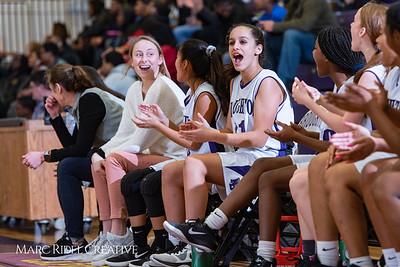 Broughton girls JV basketball vs Enloe. January 4, 2019. 750_0694