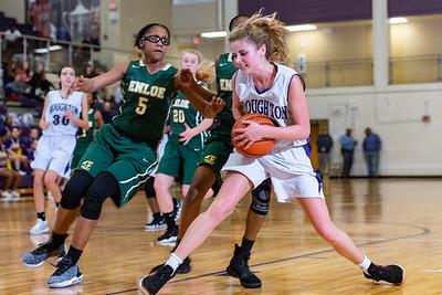 Broughton girls JV basketball vs Enloe. January 4, 2019. 750_0692