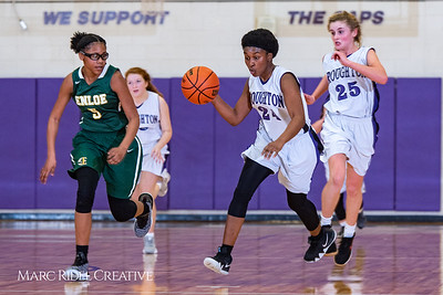 Broughton girls JV basketball vs Enloe. January 4, 2019. 750_0699
