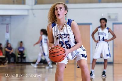 Broughton girls varsity basketball vs Enloe. January 4, 2019. 750_1019