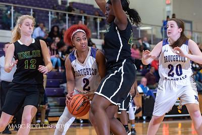 Broughton girls varsity basketball vs Enloe. January 4, 2019. 750_1014