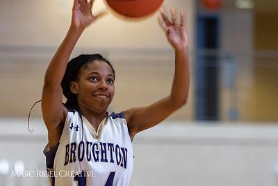 Broughton girls varsity basketball vs Enloe. January 4, 2019. 750_1031