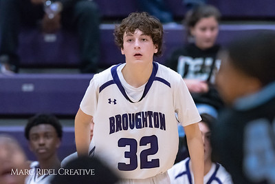 Broughton JV basketball vs Green Hope. November 20, 2018, MRC_7958