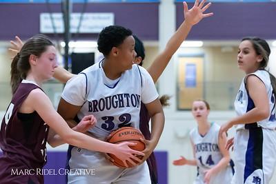 Broughton JV girls basketball vs Green Hope. December 4, 2018, MRC_5598
