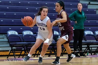 Broughton JV girls basketball vs Green Hope. December 4, 2018, MRC_5649