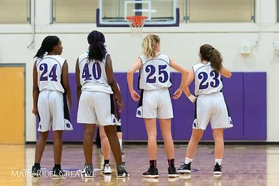 Broughton JV girls basketball vs Green Hope. December 4, 2018, MRC_5689