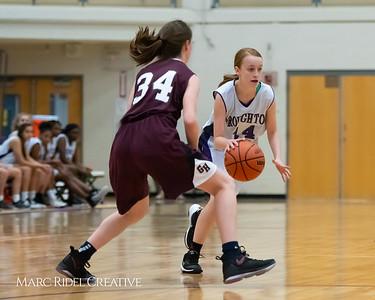 Broughton JV girls basketball vs Green Hope. December 4, 2018, MRC_5553