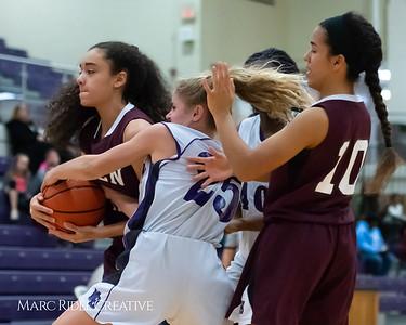 Broughton JV girls basketball vs Green Hope. December 4, 2018, MRC_5709