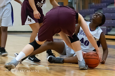 Broughton JV girls basketball vs Green Hope. December 4, 2018, MRC_5662