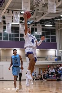 Broughton varsity basketball vs Green Hope. November 20, 2018, MRC_8445