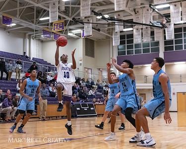 Broughton varsity basketball vs Green Hope. November 20, 2018, MRC_8485
