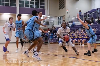 Broughton varsity basketball vs Green Hope. November 20, 2018, MRC_8405