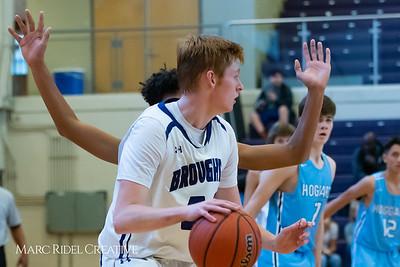 Broughton boys JV basketball vs Hoggard. 750_8365