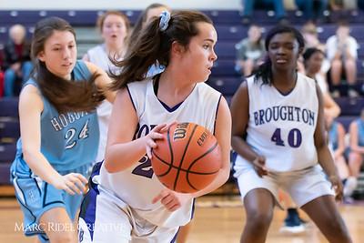 Broughton girls JV basketball vs Hoggard. 750_8027