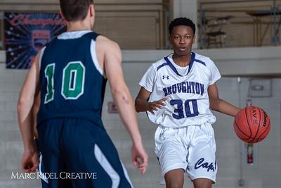 Broughton boys JV basketball vs Leesville. February 4, 2019. 750_2173