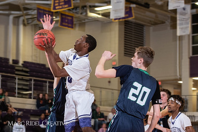 Broughton boys varsity basketball vs. Leesville. January 8, 2019. 750_1730