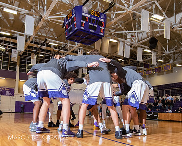 Broughton boys varsity basketball vs. Leesville. January 8, 2019. 750_1706