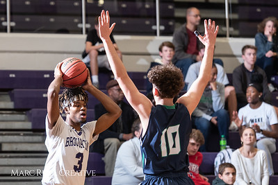 Broughton boys varsity basketball vs. Leesville. January 8, 2019. 750_1720