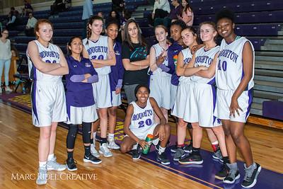Broughton girls JV basketball vs Leesville. February 4, 2019. MRC_3661