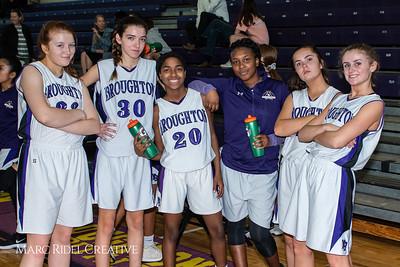 Broughton girls JV basketball vs Leesville. February 4, 2019. MRC_3660