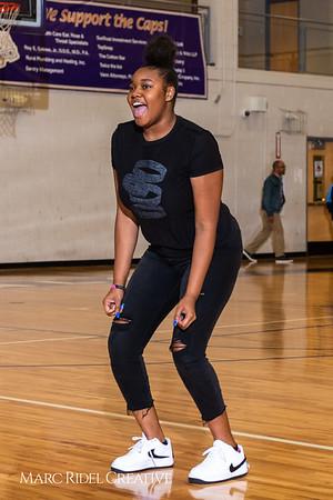 Broughton girls varsity basketball vs. Leesville. January 8, 2019. 750_1548