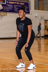 Broughton girls varsity basketball vs. Leesville. January 8, 2019. 750_1548