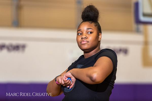 Broughton girls varsity basketball vs. Leesville. January 8, 2019. 750_1588