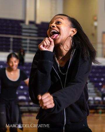 Broughton girls varsity basketball vs. Leesville. January 8, 2019. 750_1550