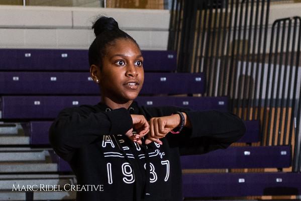 Broughton girls varsity basketball vs. Leesville. January 8, 2019. 750_1569