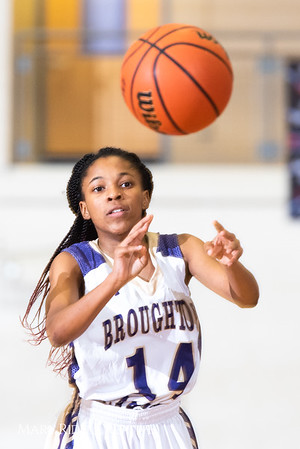 Broughton girls varsity basketball vs. Leesville. January 8, 2019. 750_1517