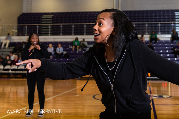 Broughton girls varsity basketball vs. Leesville. January 8, 2019. 750_1551