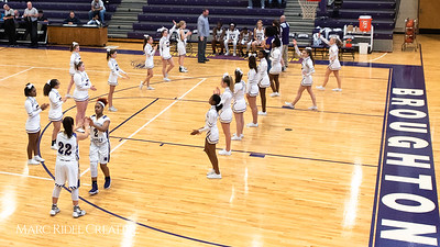 Broughton girls varsity basketball vs. Leesville. January 8, 2019. 750_1488