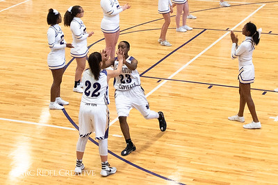Broughton girls varsity basketball vs. Leesville. January 8, 2019. 750_1489