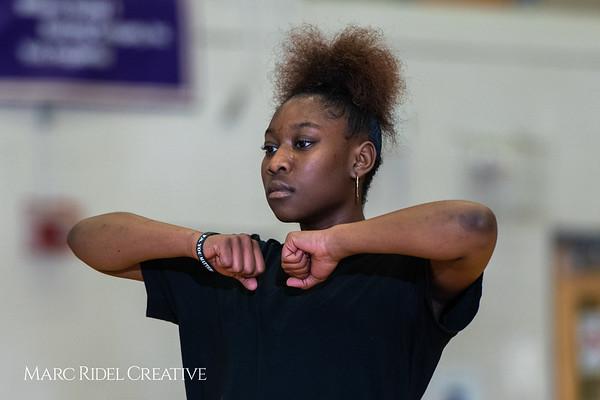 Broughton girls varsity basketball vs. Leesville. January 8, 2019. 750_1577
