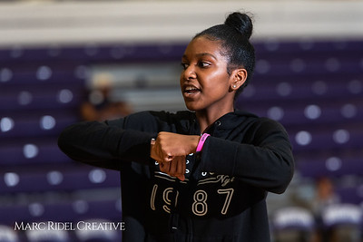 Broughton girls varsity basketball vs. Leesville. January 8, 2019. 750_1571