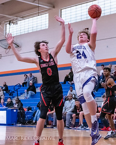Broughton boys varsity basketball vs Middle Creek. January 21, 2019. MRC_1631