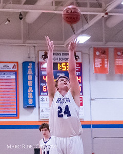 Broughton boys varsity basketball vs Middle Creek. January 21, 2019. MRC_1633