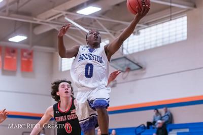 Broughton boys varsity basketball vs Middle Creek. January 21, 2019. 750_5244