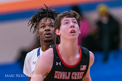 Broughton boys varsity basketball vs Middle Creek. January 21, 2019. 750_5306