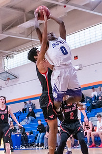 Broughton boys varsity basketball vs Middle Creek. January 21, 2019. MRC_1614