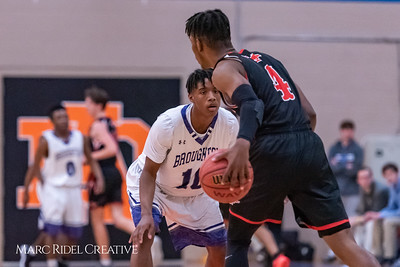 Broughton boys varsity basketball vs Middle Creek. January 21, 2019. 750_5237